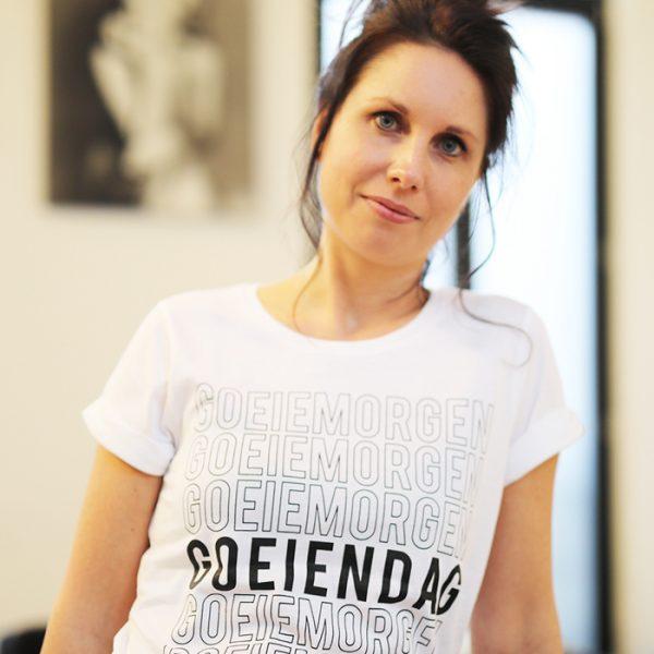 Goeiemorgen Goeiendag t-shirt - CHEEKY&DUTCH