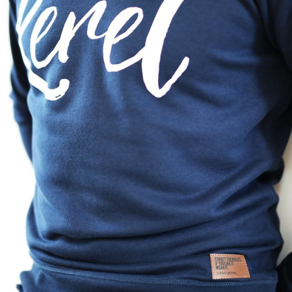 Kerel sweater Navy - CHEEKY & DUTCH
