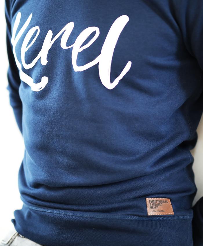 Kerel sweater Navy - CHEEKY & DUTCH