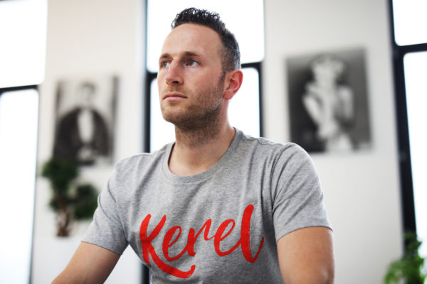Kerel t-shirt grey - CHEEKY&DUTCH