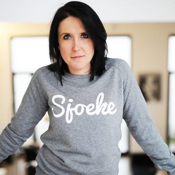 Original Sjoeke sweater mid heather grey - CHEEKY&DUTCH