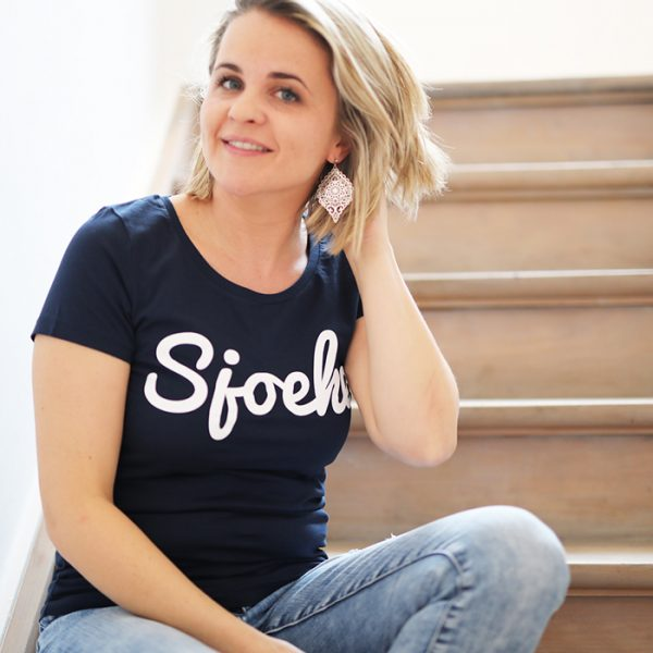 Original Sjoeke t-shirt navy - CHEEKY&DUTCH