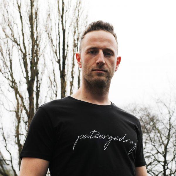 Patsergedrag t-shirt black - CHEEKY&DUTCH