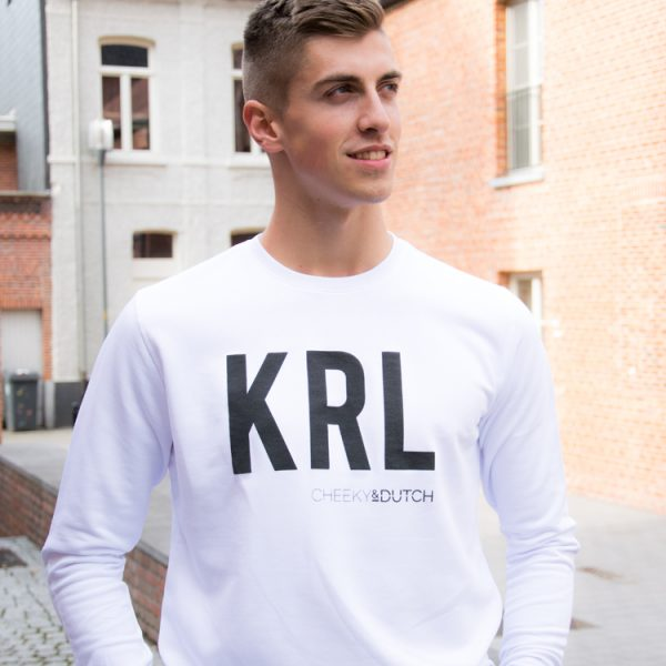 Stoere KRL sweater voor echte kerels - CHEEKY&DUTCH