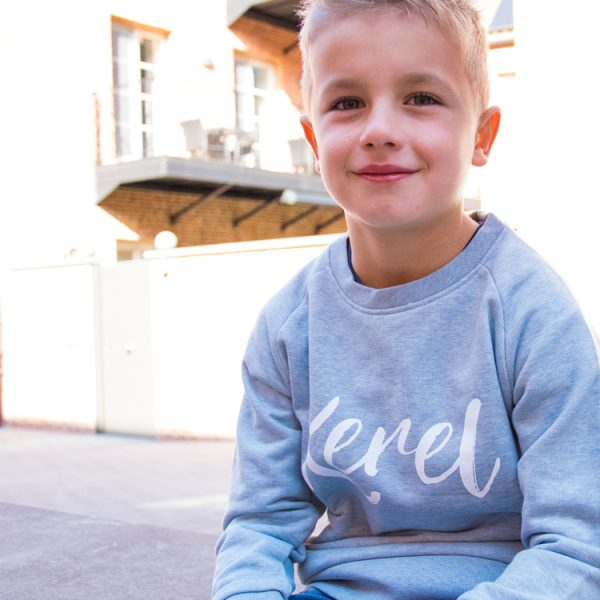 Kerel sweater jongens blue - CHEEKY&DUTCH