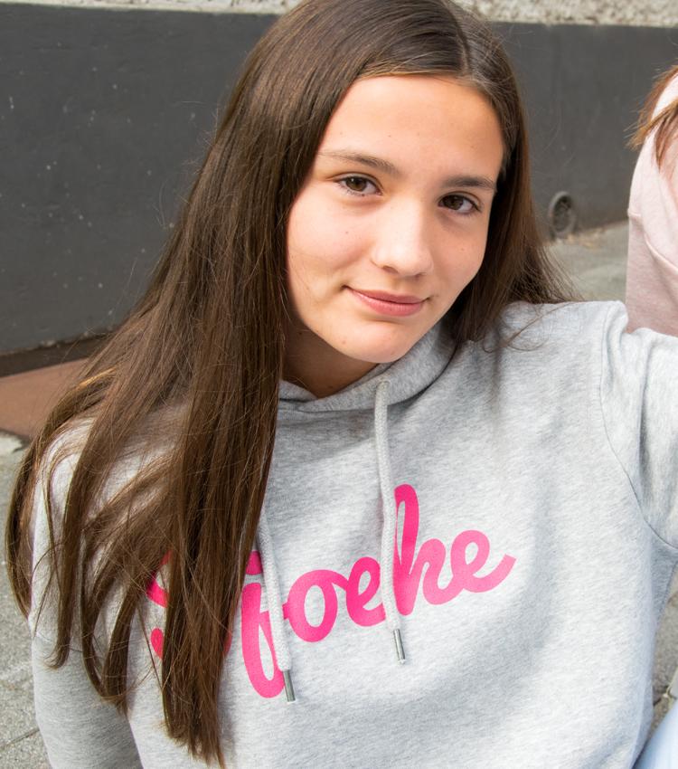 Sjoeke Hoodie Grey - CHEEKY&DUTCH