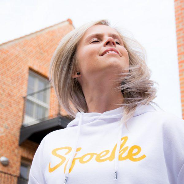 Sjoeke Hoodie White - CHEEKY&DUTCH